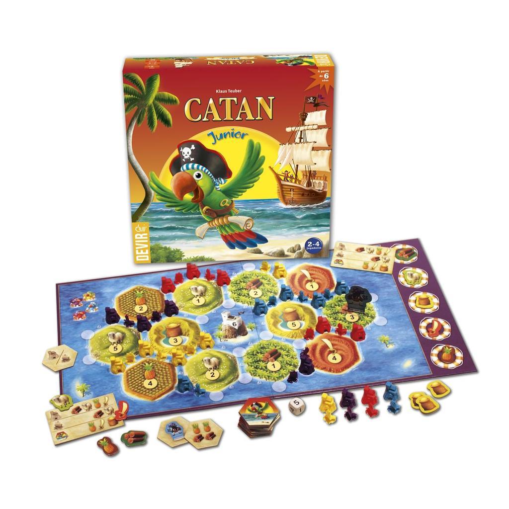 Catan Junior : jeu de société |