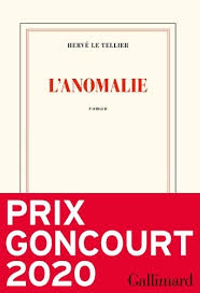L' anomalie / Hervé Le Tellier |