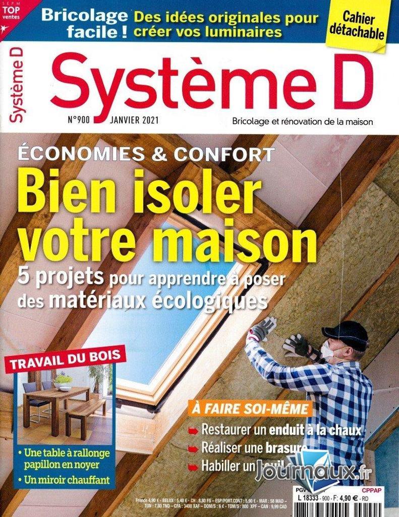 Système D Pratique. 900, 01/01/2021 |