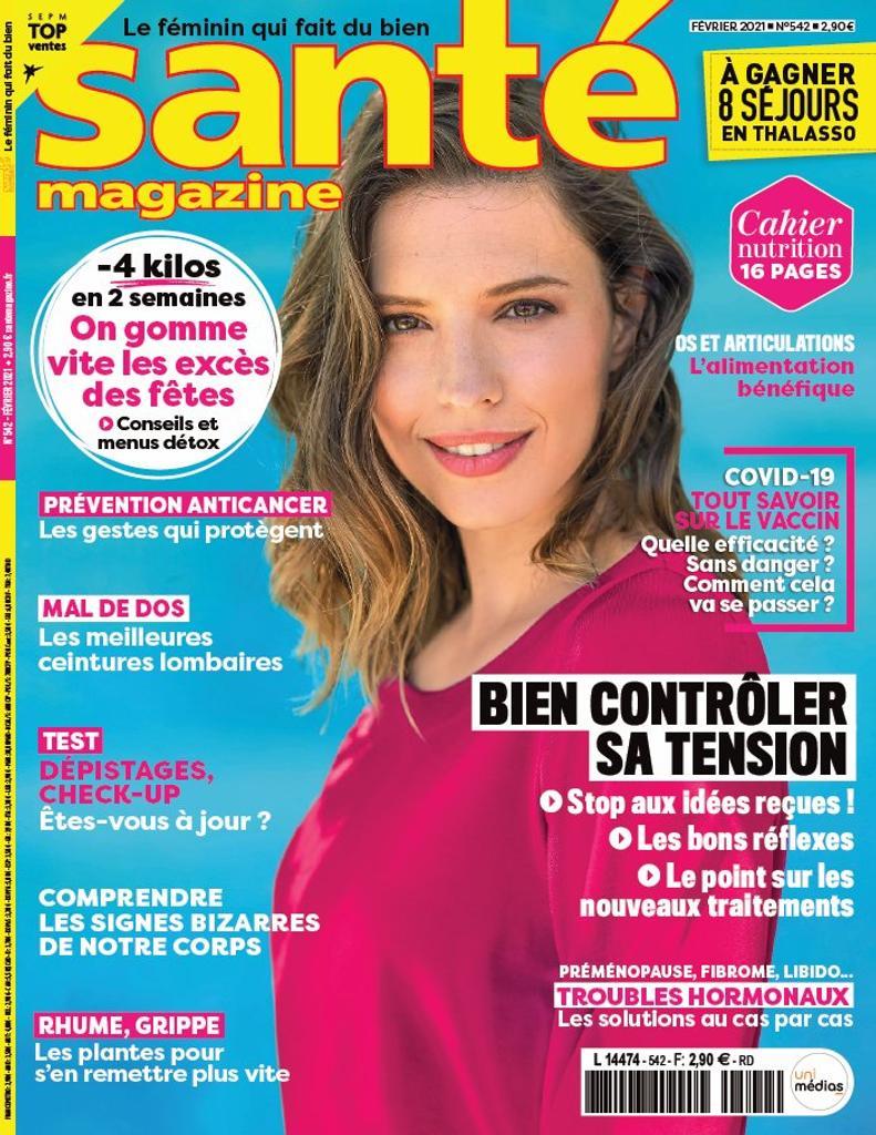 Santé magazine. 542, 01/02/2021 |