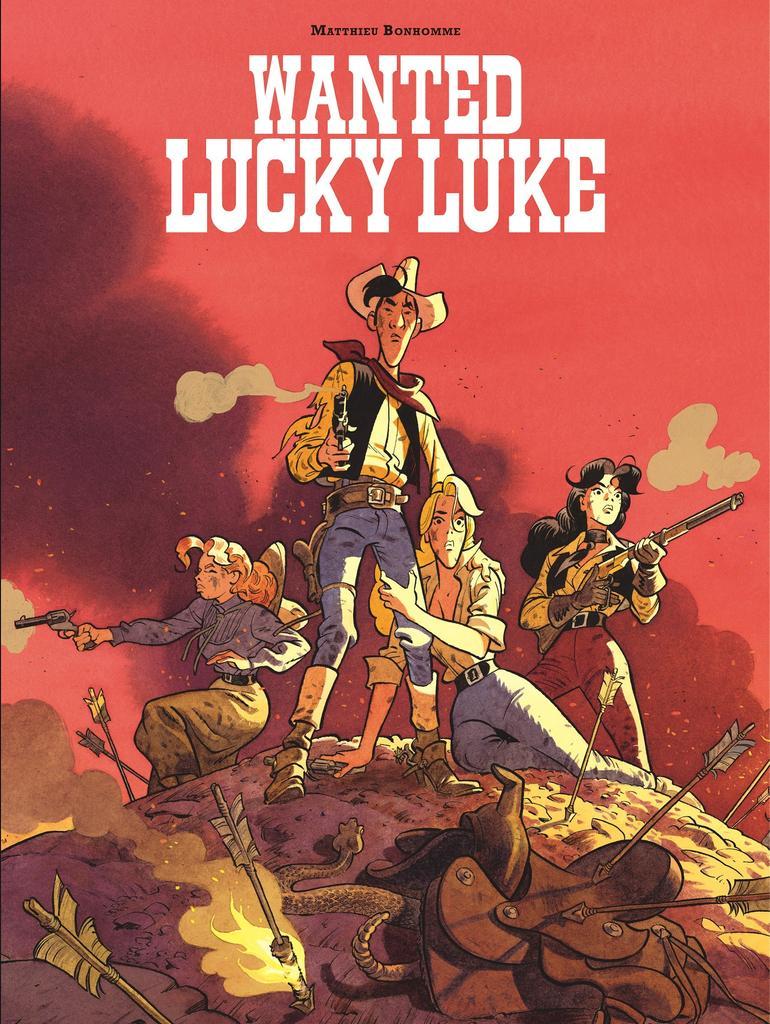 Wanted Lucky Luke / scénario, dessin et couleur, Matthieu Bonhomme |
