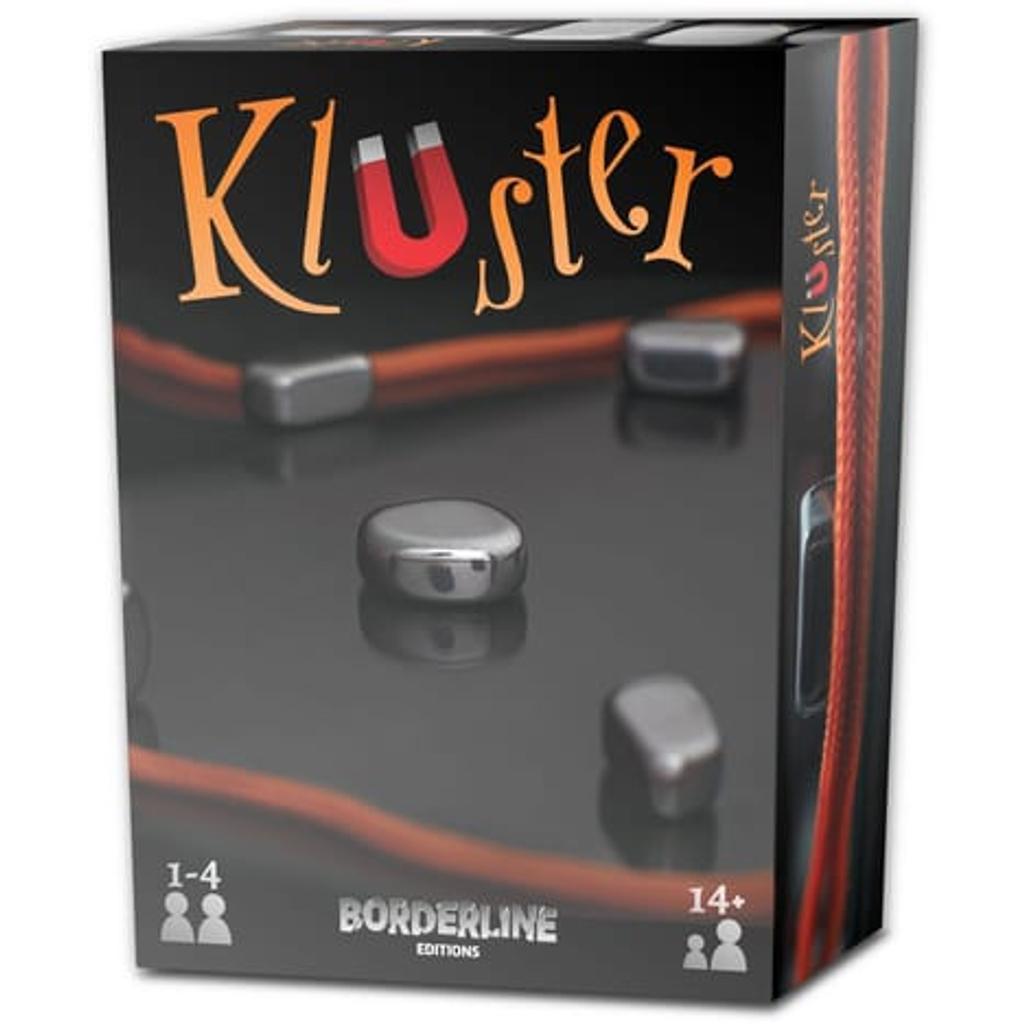 Kluster = aimant, adresse : jeu de société |