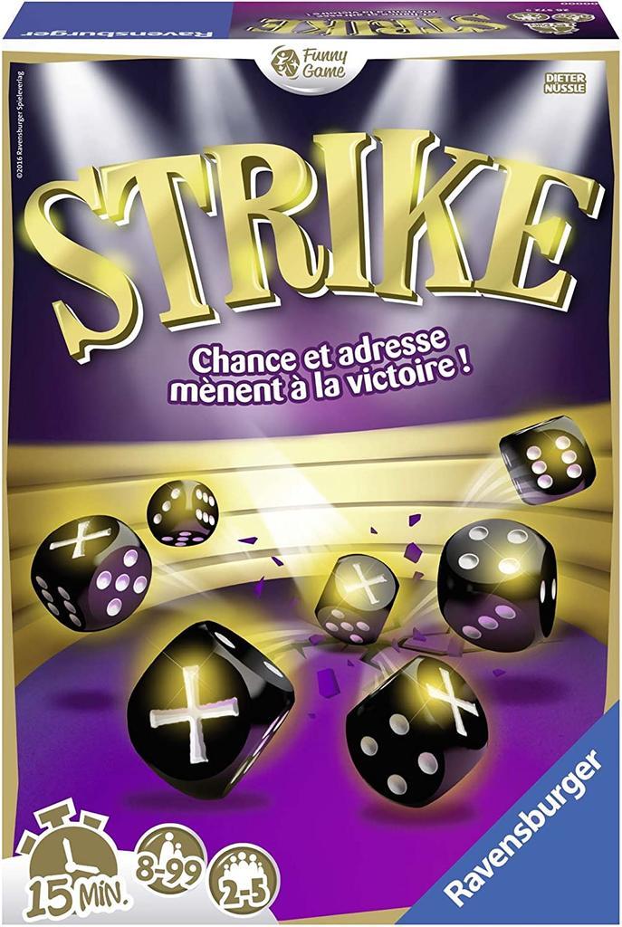 Strike : jeu de société = dés, chance, adresse |