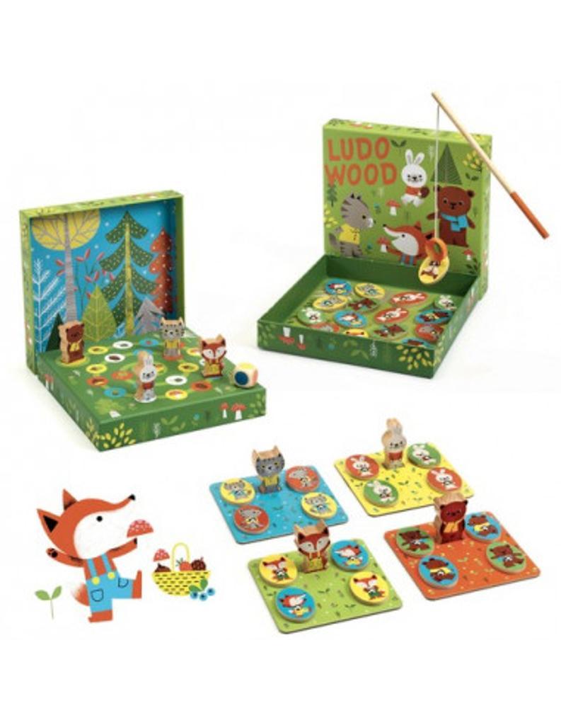 Ludo Wood = multi jeux : jeu de société |